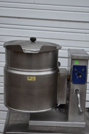 CLEVELAND KET-12-T ELECTRIC STEAM JACKET KETTLE 12 GAL