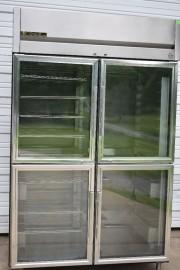 TRUE TA2HPT-4HS-4HG FULL HEIGHT 8 DOORS PASS THRU INSULATED HEATED CABINET