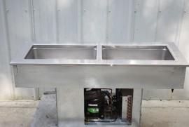 DELFIELD 8148-EFN TWO PAN DROP IN COLD FOOD WELL
