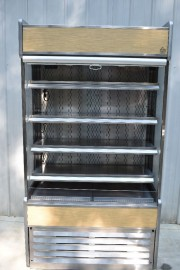 OASIS B42 ,STRUCTURAL CONCEPTS, VERTICAL AIR CURTAIN REFRIGERATOR